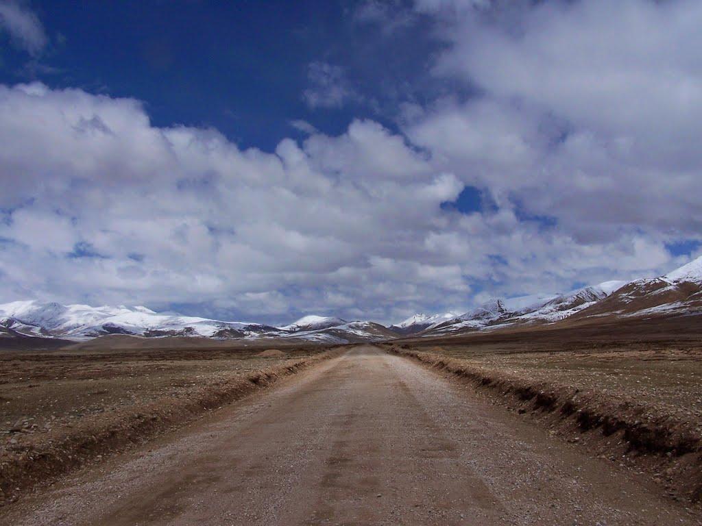 North from Drolma Lhakang