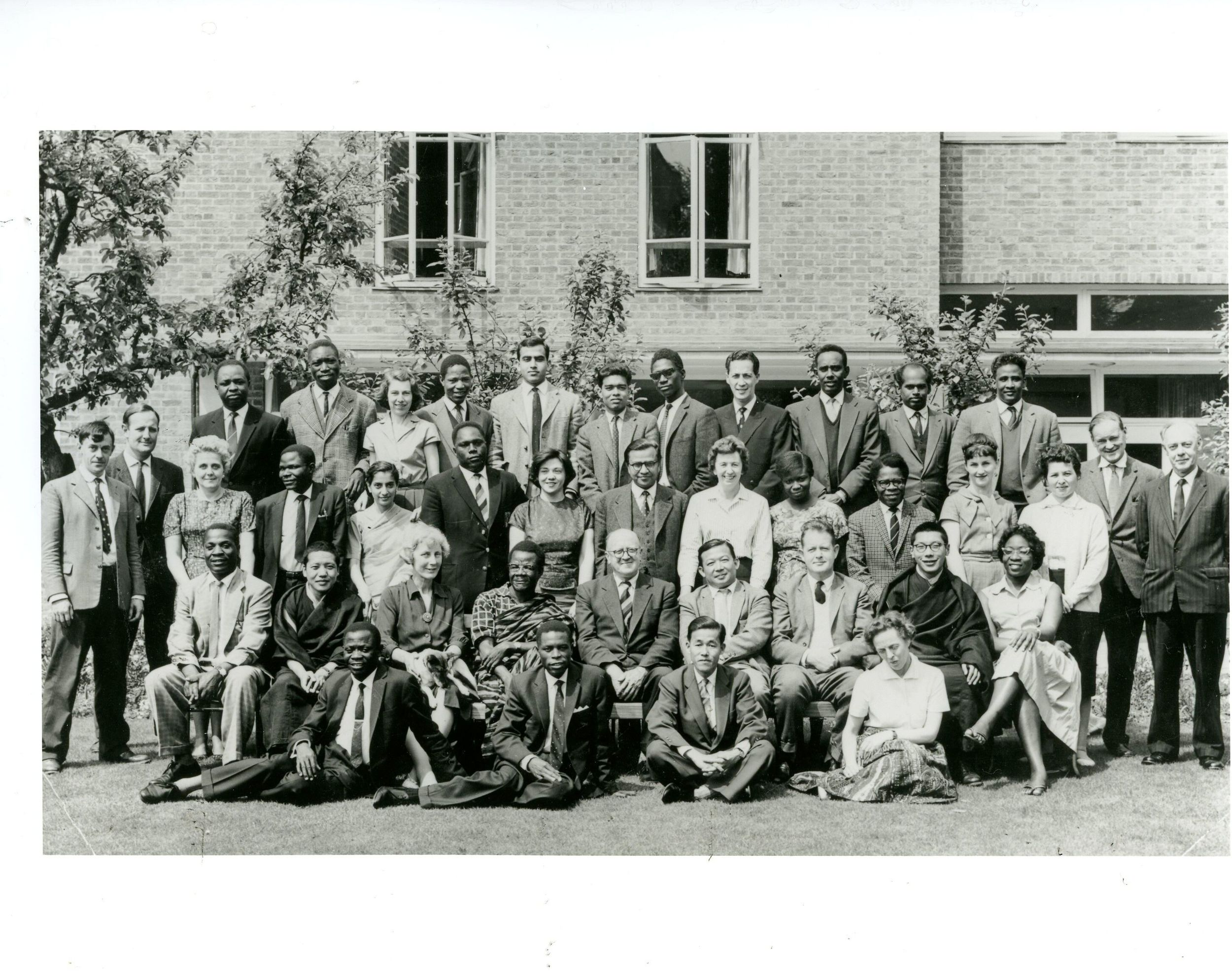 Chogyam Trungpa, Oxford (seated, 2nd from right)