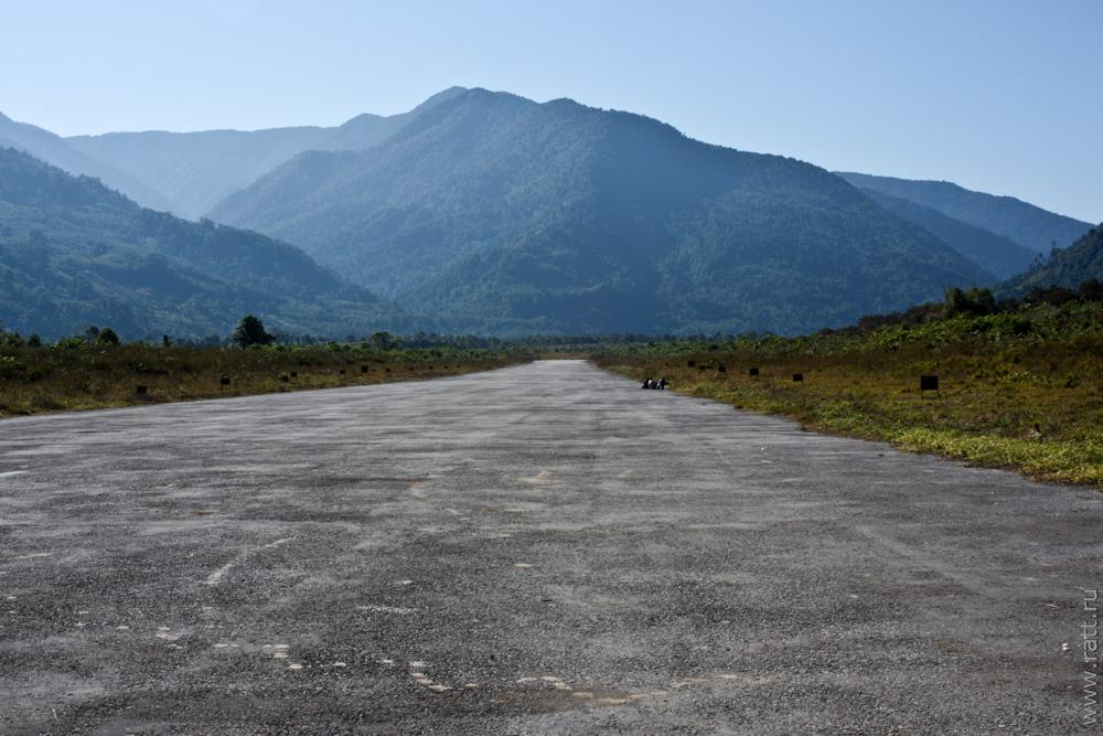 Tuting airstrip
