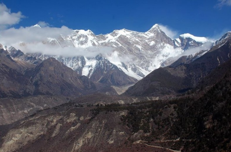 The climb towards Mt Namcha Barwa
