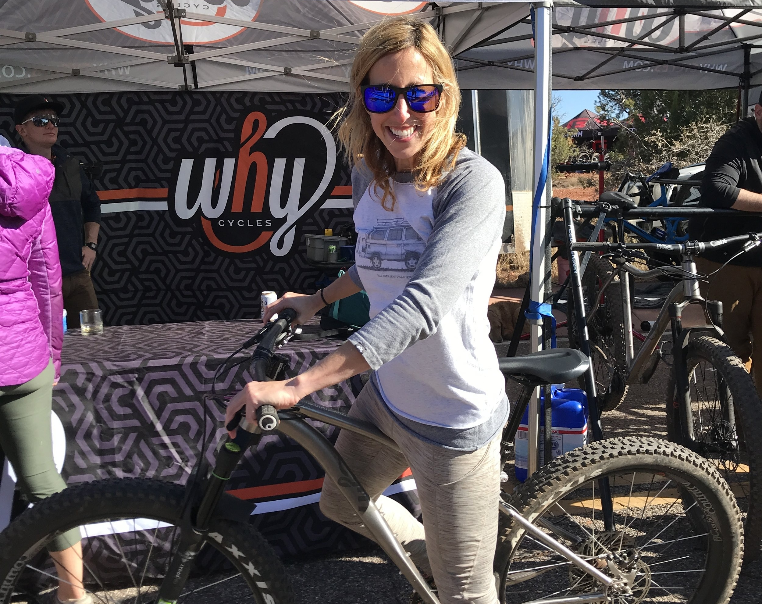 Taking a  Why Cycles  mountain bike for a spin!