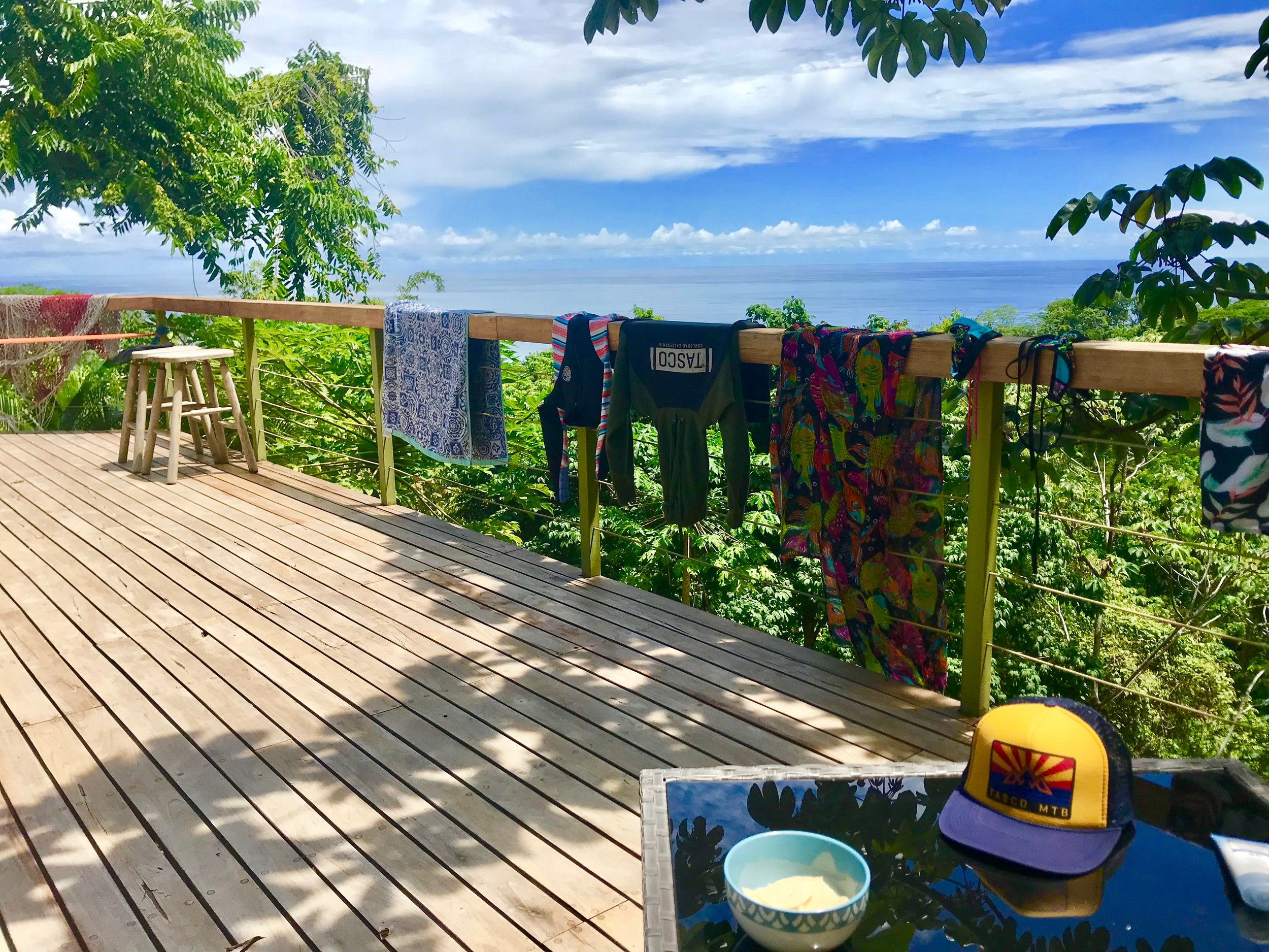 In today's data-driven world, I want to be protected, even when working from this remote office on a beach in Costa Rica.