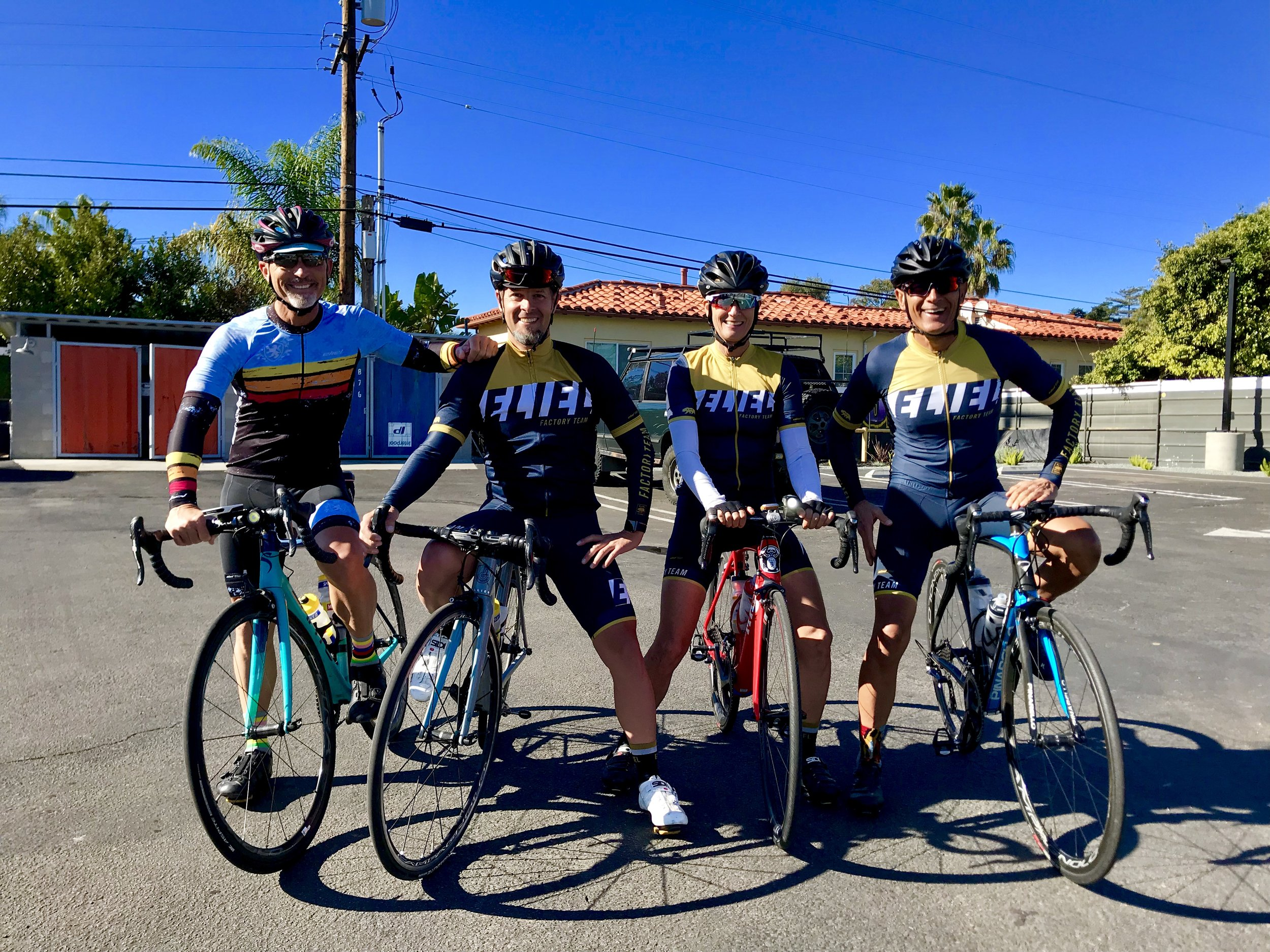 Your customers can often be your best ambassadors, and  Eliel Cycling  has some amazing riders in their team kits throughout Southern California.