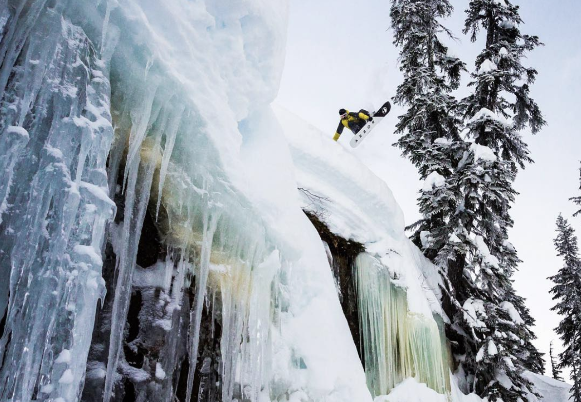 Action photographer  Erin Hogue  shot this image of pro snowboarder  Charles Reid  that won her the X Games ZOOM photo contest!