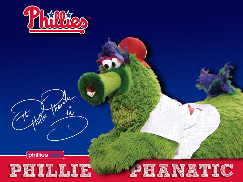 Meet the Phillie Phanatic at the Opening Reception - We might be a little biased about our sports teams here in Philadelphia but, according to NBC Sports, the Phillie Phanatic is the top sports mascot of all time. Standing at 6 feet 6 inches tall with a 90-inch waist, the Phanatic's bright green fur and trademark extra-long tongue will make an appearance.