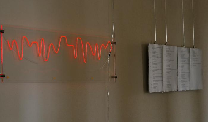 Einer der 14 Liebeslandschaften mit Tagebuchaufzeichnungen  September 2017  Liebeslandschaften visualisieren Gefühle in Form einer Lichtzeichnung. Sie entstanden nach Angaben von Menschen, die am Projekt teilnahmen. Mehr über das Projekt erfährts du  hier .