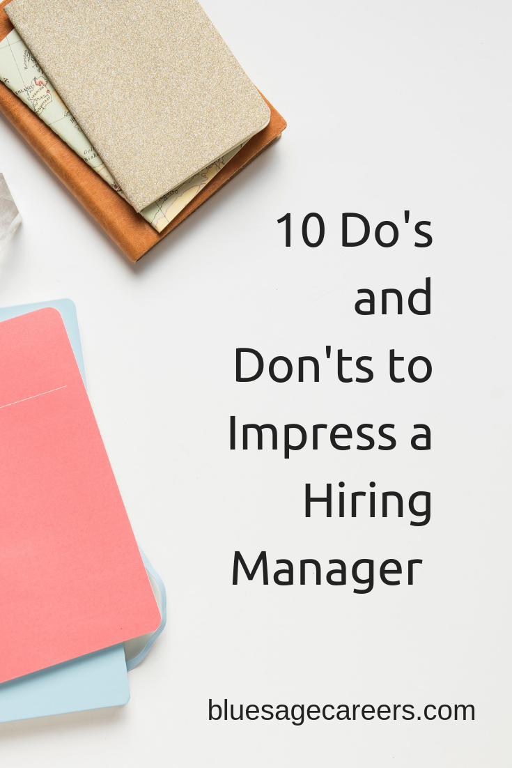 What do hiring managers look for in an job applicant?