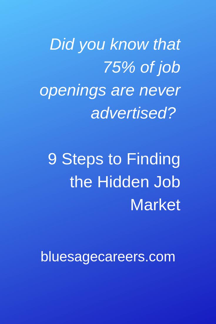 How to Network your way into a job |  bluesagecareers.com