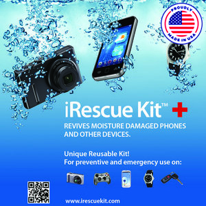 iRescue Kit - Revives Moisture Damaged Devices
