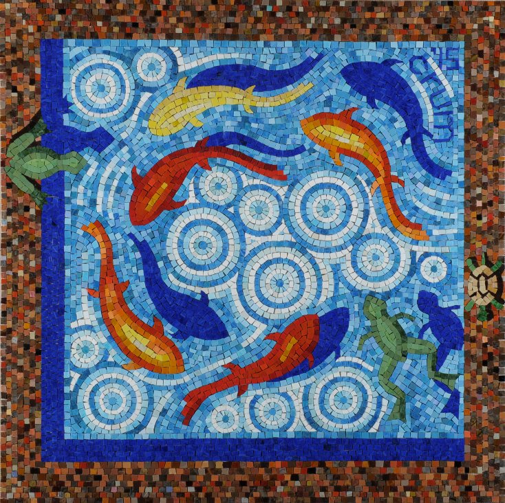 Clearwater Mosaic by Robert Alvin Crum