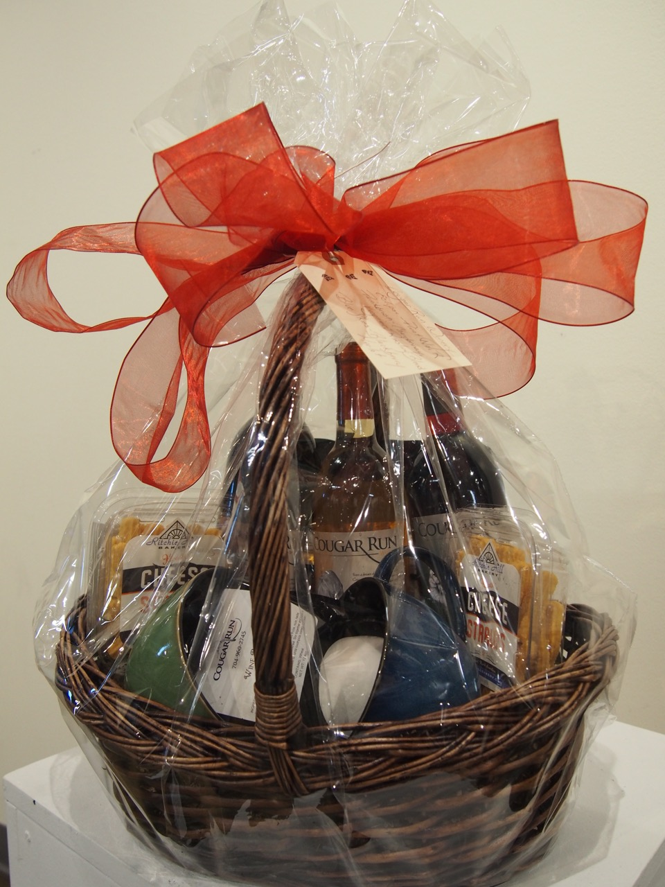 $90 Gift Basket from Cougar Run Winery