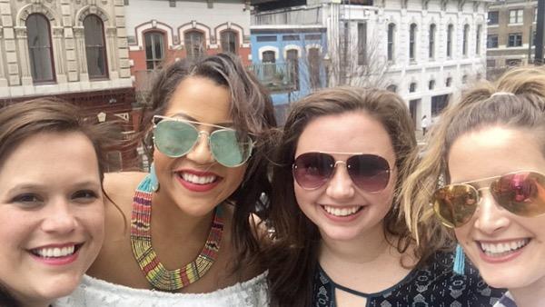 Merdi missed the sunglasses memo. #sisters