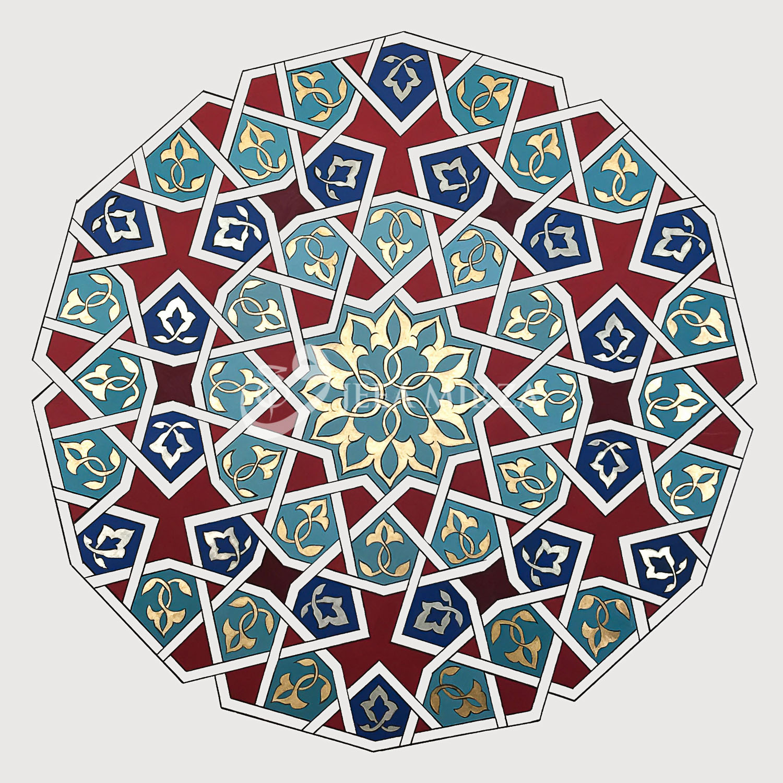 """Mehfil"" - An Illuminated Roundel"