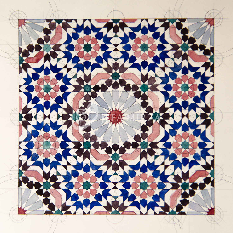 A Complex Zillij Tile