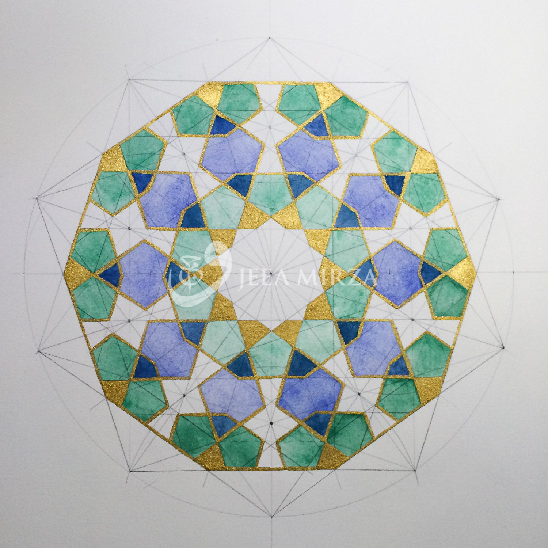 A Ten Fold Pattern