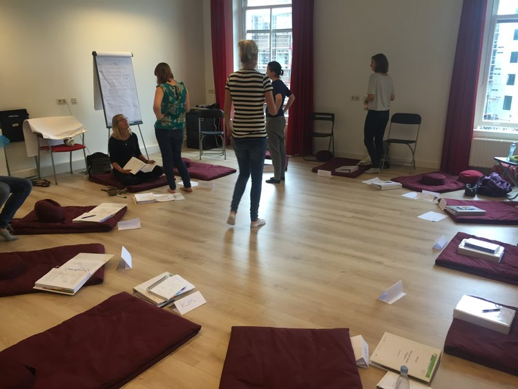 Kimberley's MYmind training in Amsterdam (September, 2016)