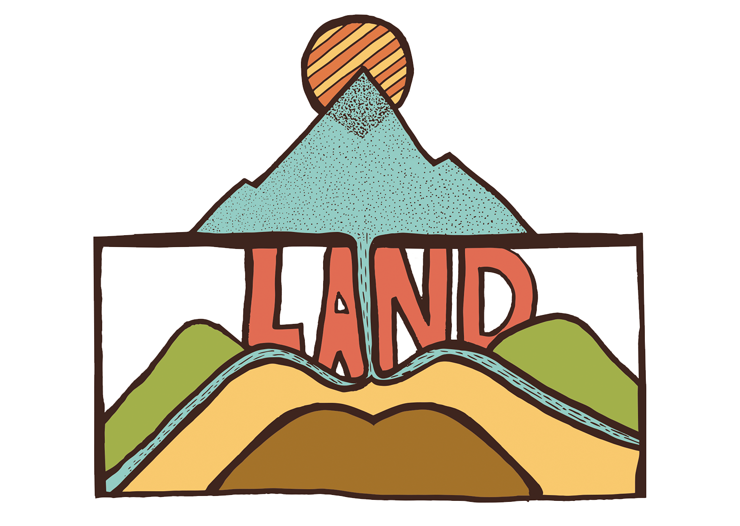 I worked on this fun submission for  Misadventures Magazine . The theme was, you guessed it, land. One thing I want to do more of,is submitting my work for contests and submissions in order to create more outlets to share my art. My submission wasn't chosen, but I still enjoyed creating this piece!