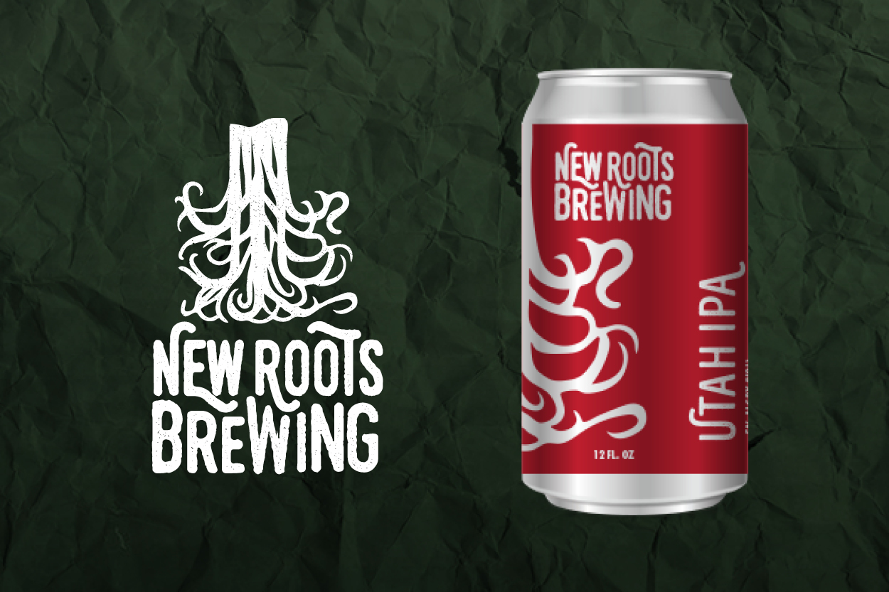 Client:  New Roots Brewing   Project Title:  Branding and Beer Can Package Design