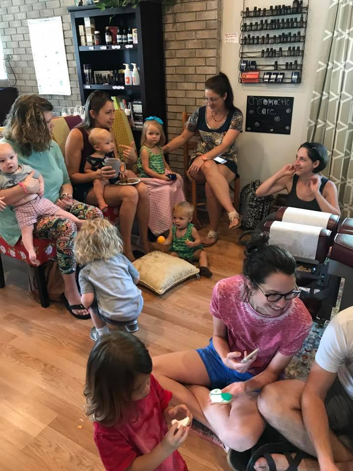 Along with serving up health and chiropractic we also have lots of fun parties and events for the family! Santa PJ Party, Chiropractic's Birthday, Pumpkin Painting, The Big Latch On and more!