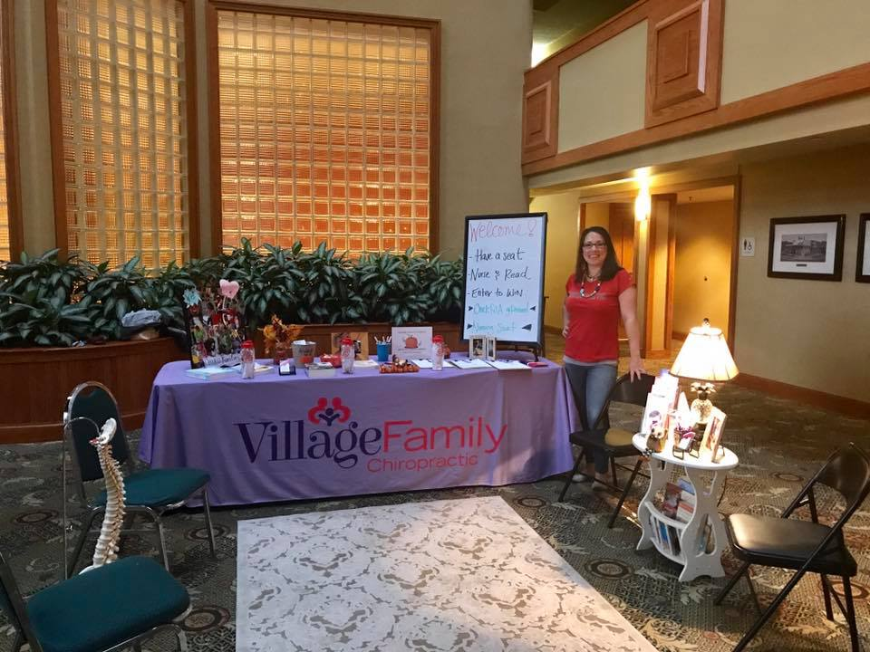 Everyone should have access and education about natural, affordable healthcare so Dr. Kim and her family frequent events all over the Triad sharing about chiropractic! *La Leche League Regional Conference