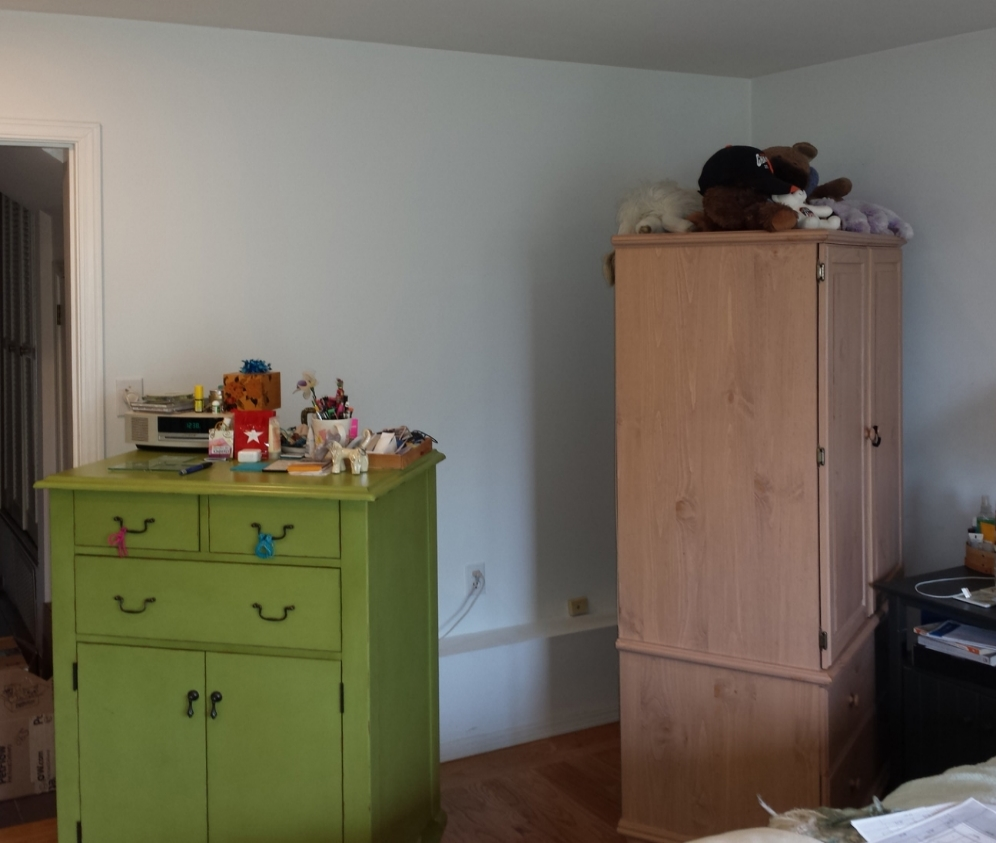 Before: Bedroom Space