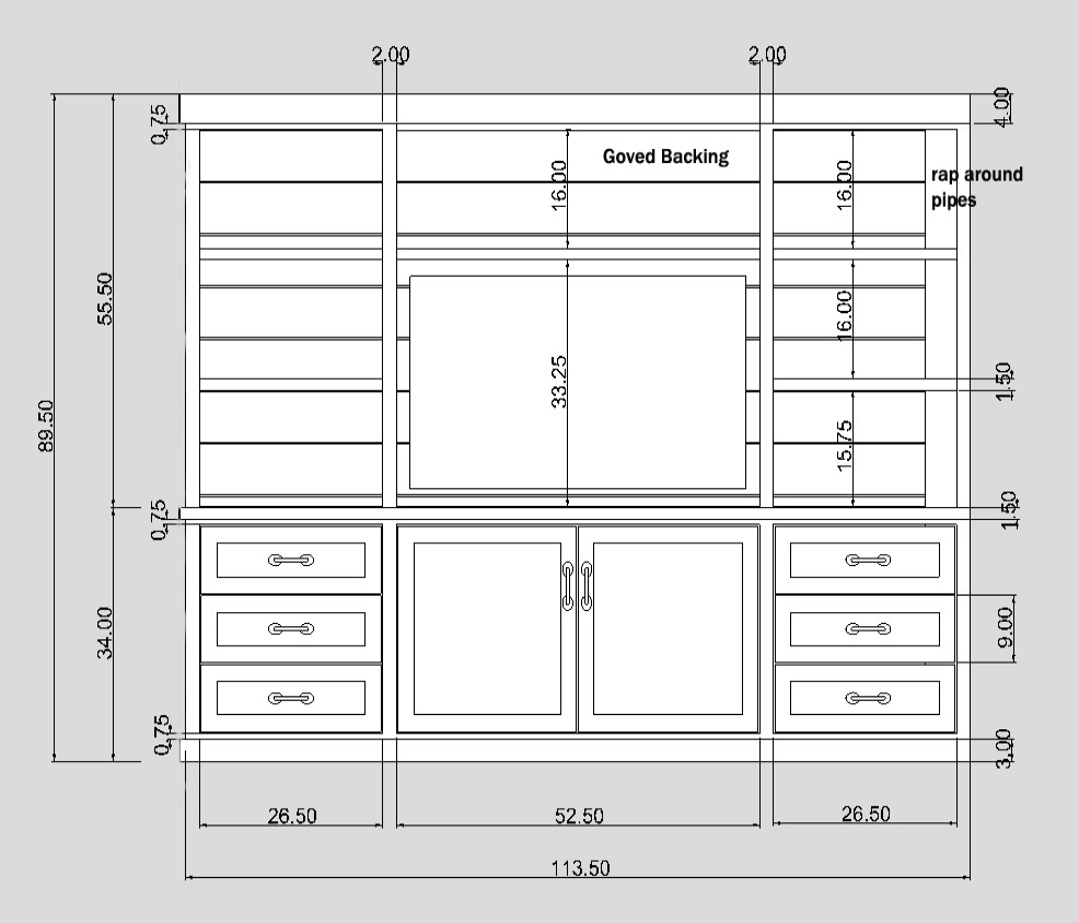 Media Equipment Storage Specs