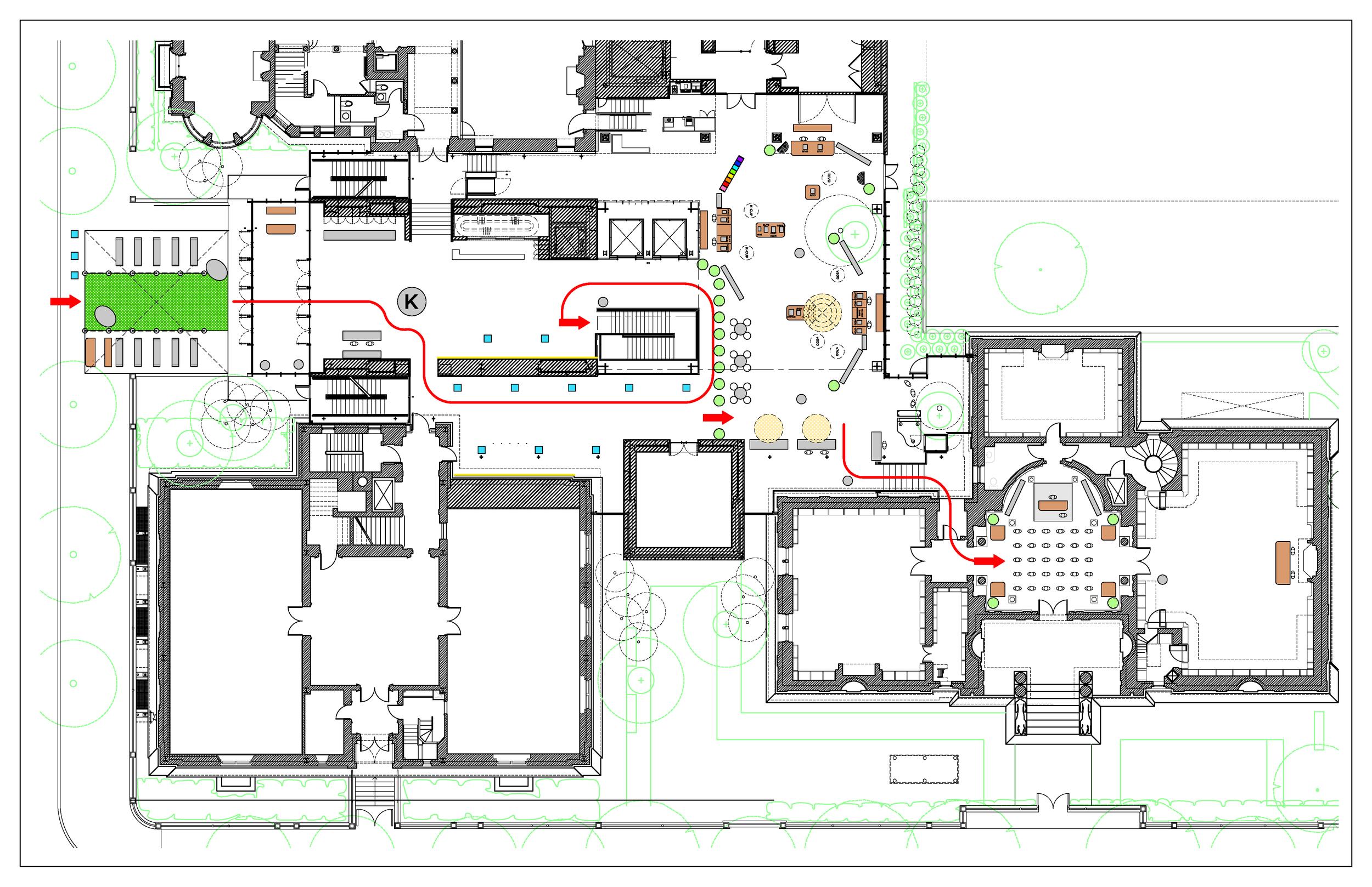 "Keurig Green Mountain: ""15 Years of Innovation & Engineering"" - full ground plan"