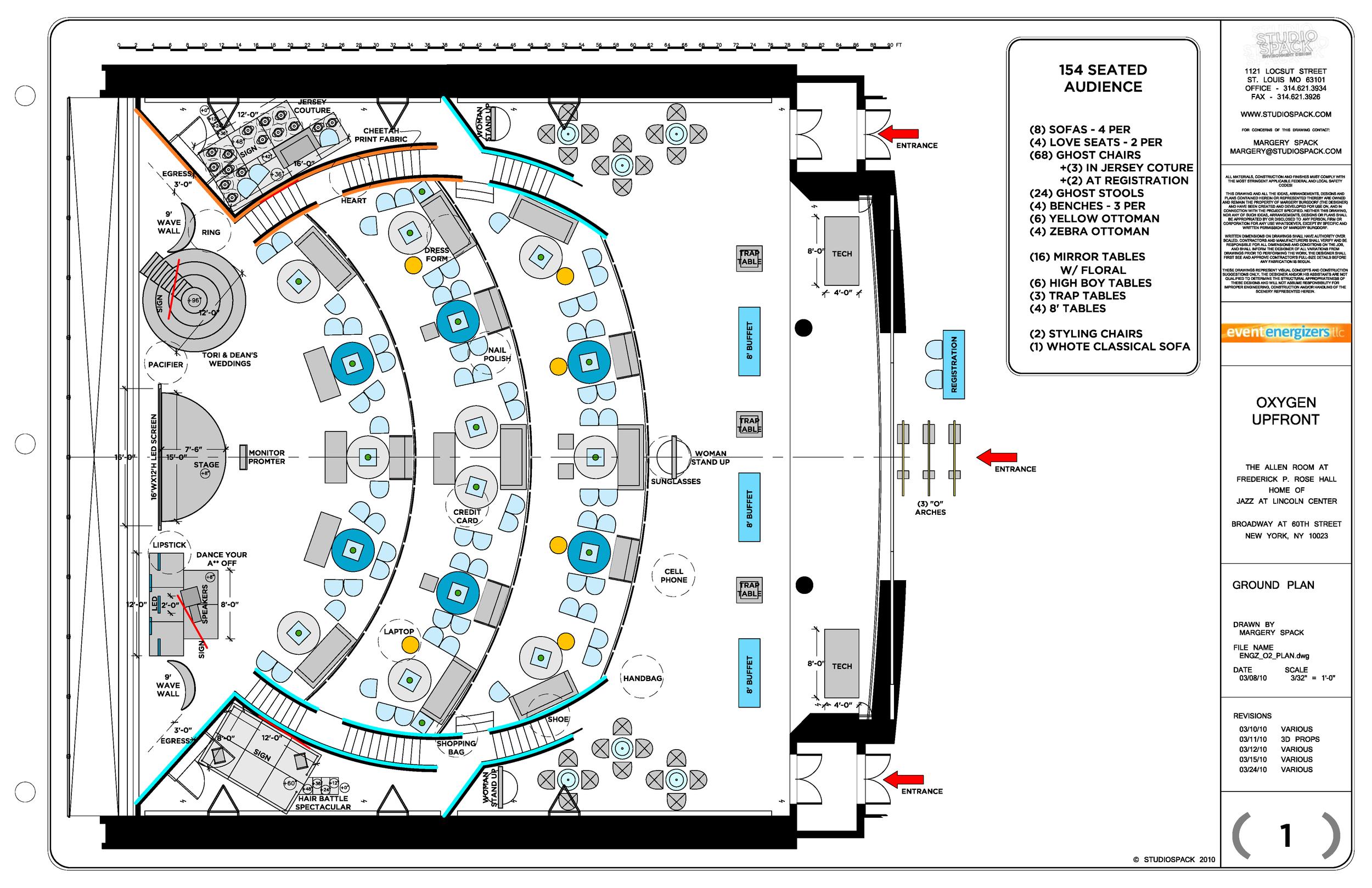 Oxygen Network upfront - ground plan
