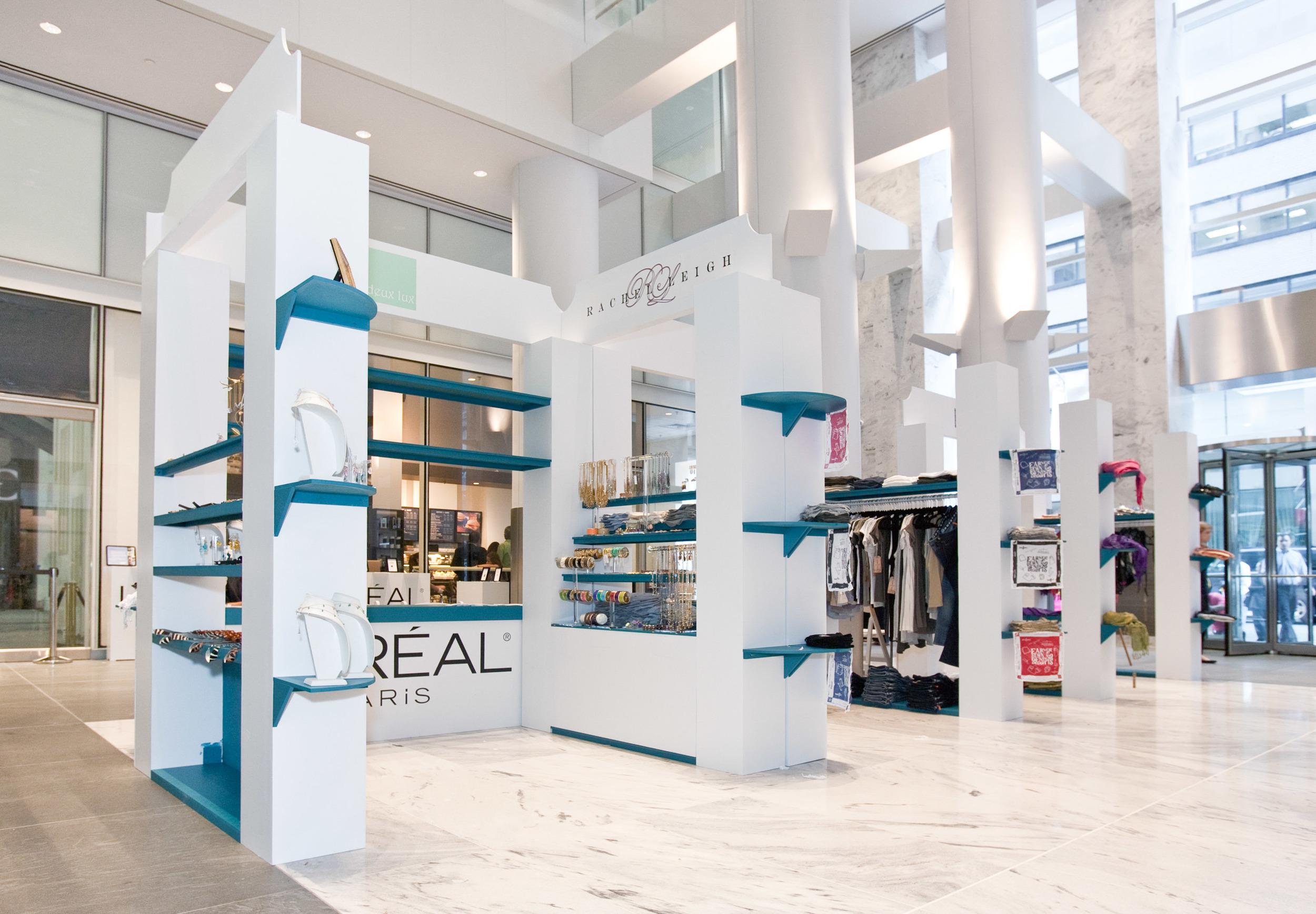 "L'Oréal ""Ovarian Cancer Awareness"" pop-up sample sale & silent auction"