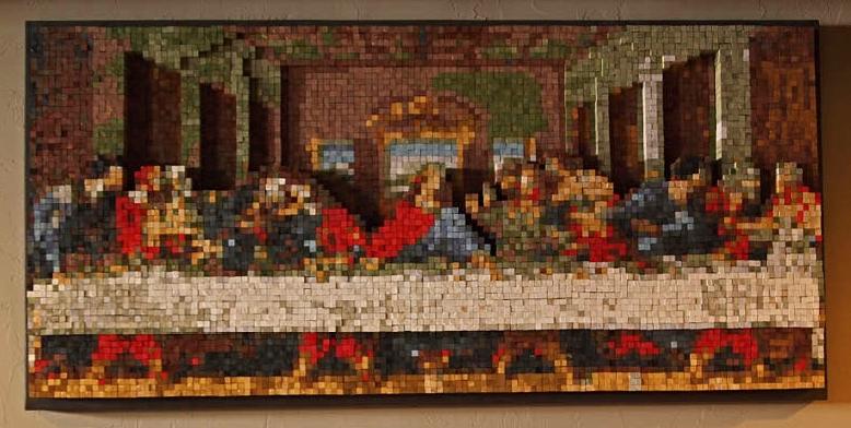 Sacred Art in Dining Room - Artist: Urban Abbey Community