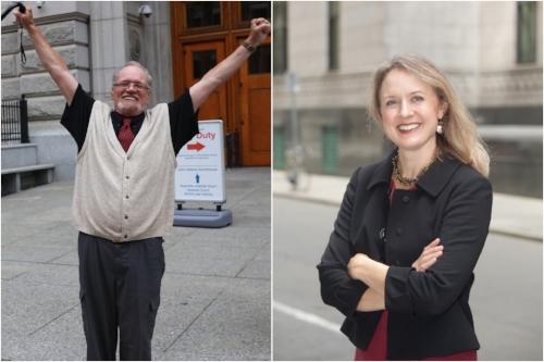 Ronjon  Cameron (left) and Lisa Kavanaugh (right)