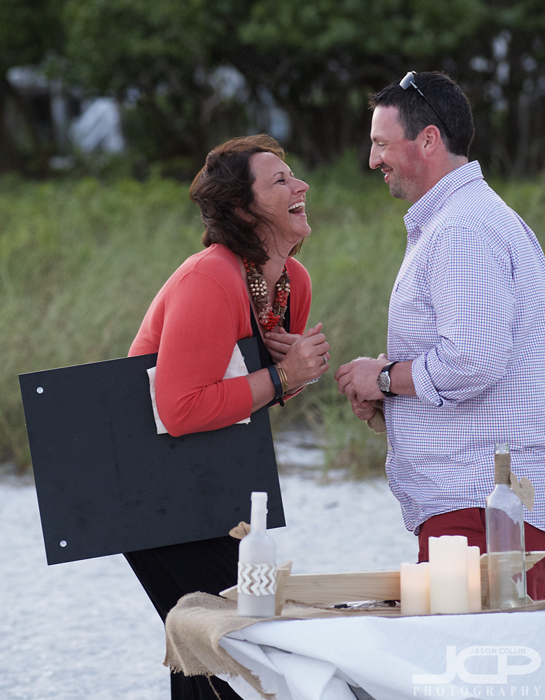 Candid engagement photography on Sanibel Island at the Thistle Lodge - Nikon D300 Nikkor 80-200mm @ f/4 1/200th ISO 1000