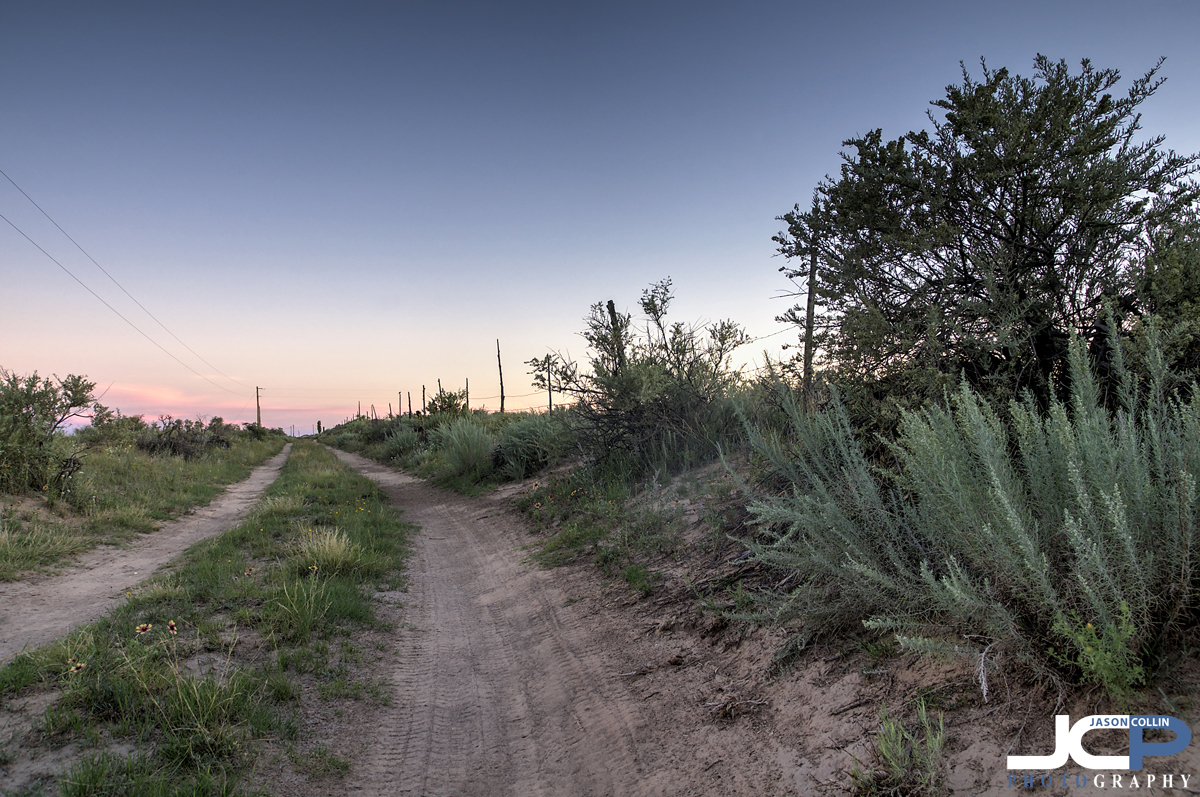 The roads to rural properties in New Mexico can be rough! - Nikon D300 with Tamron 17-50mm @ f/f8 ISO 200 5-bracket HDR tripod mounted with cable release