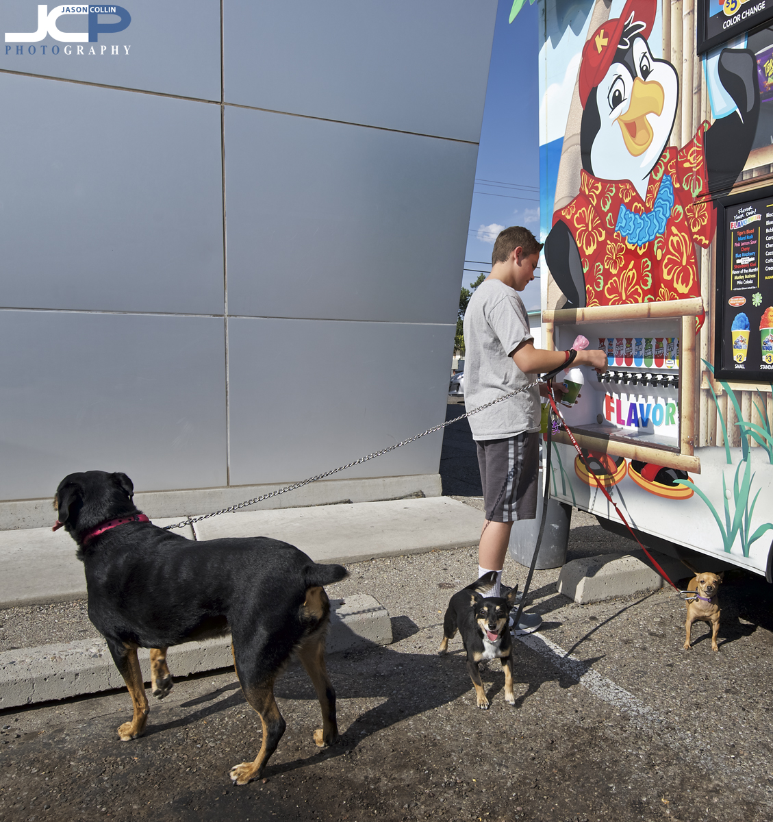 Even dogs are excited about Kona Ice! - Nikon D750 with Tamron 15-30mm f/2.8 @ f/11 1/200th ISO 100