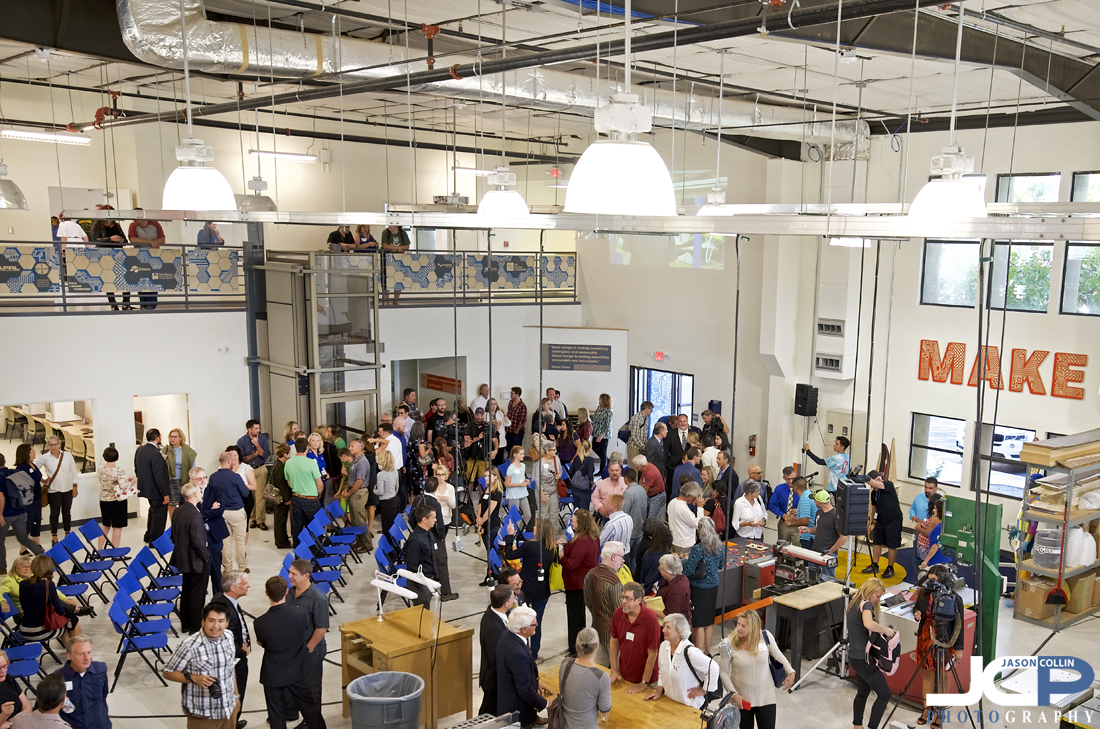 Big turnout for the grand opening of FUSE Makerspace in Albuquerque, New Mexico - Nikon D750 with Tamron 15-30mm @ f/4 1/60th ISO 640