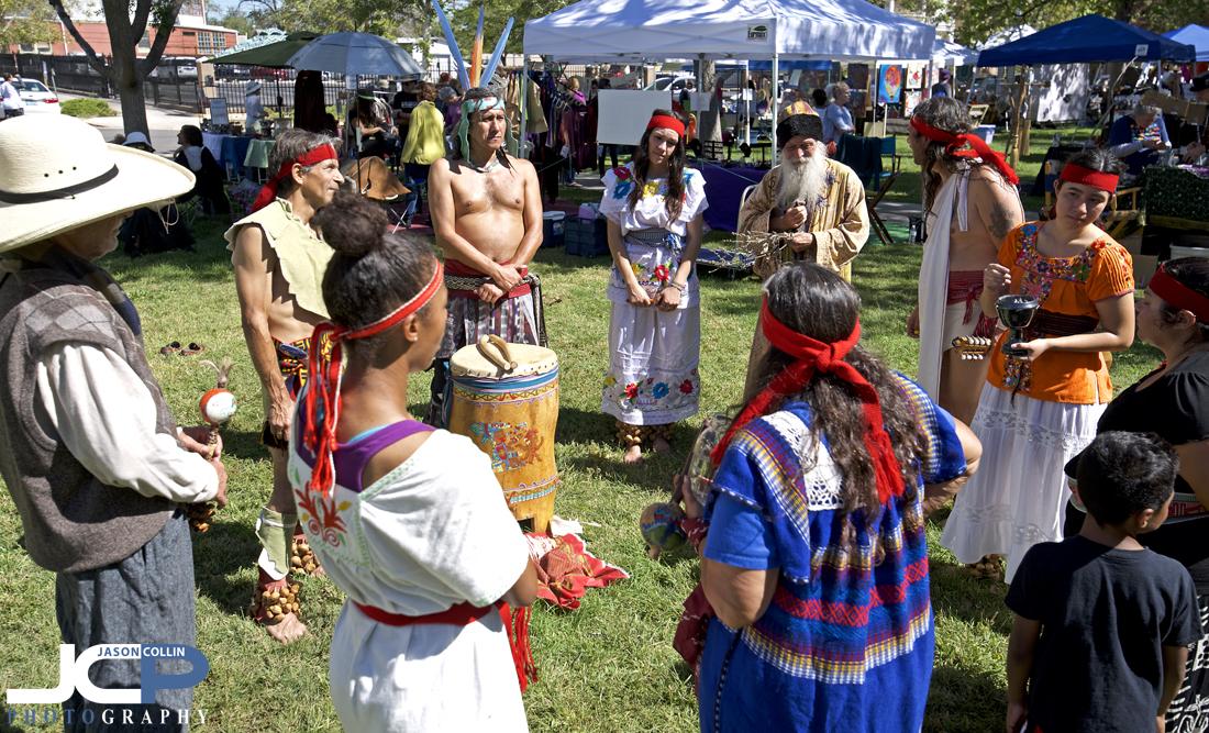 Drum & music circle at 15th Annual Offcenter Folk Art Festival - Nikon D750 with Tamron 15-30mm @ f/5.6 1/250th ISO 100
