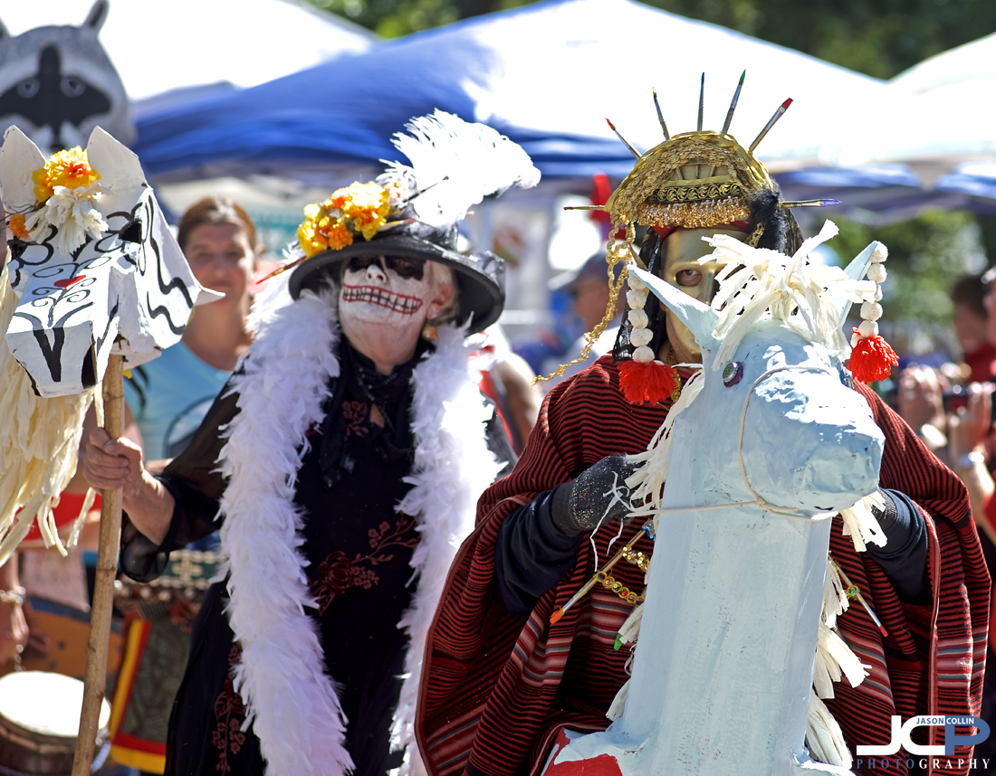 Puppet parade at the 15th Annual Offcenter Folk Art Festival - Nikon D750 with Nikkor 80-200mm f/2.8D at f/4 1/320th ISO 100