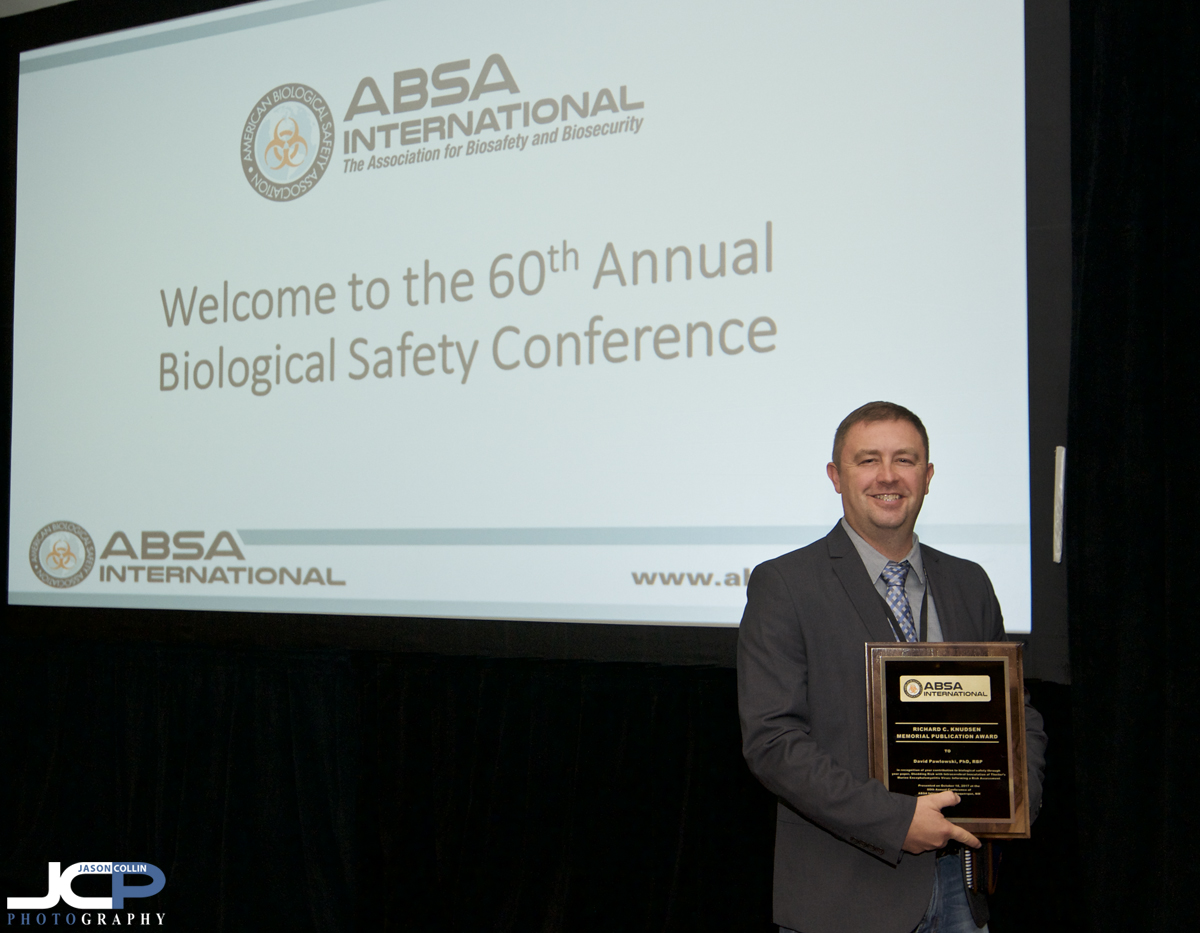 Winning a memorial reward at ABSA 2017 in the Albuquerque Convention Center - Nikon D300 with Tamron 15-30mm @ f/4 1/60th ISO 800 with Nikon SB-800 hotshoe mounted