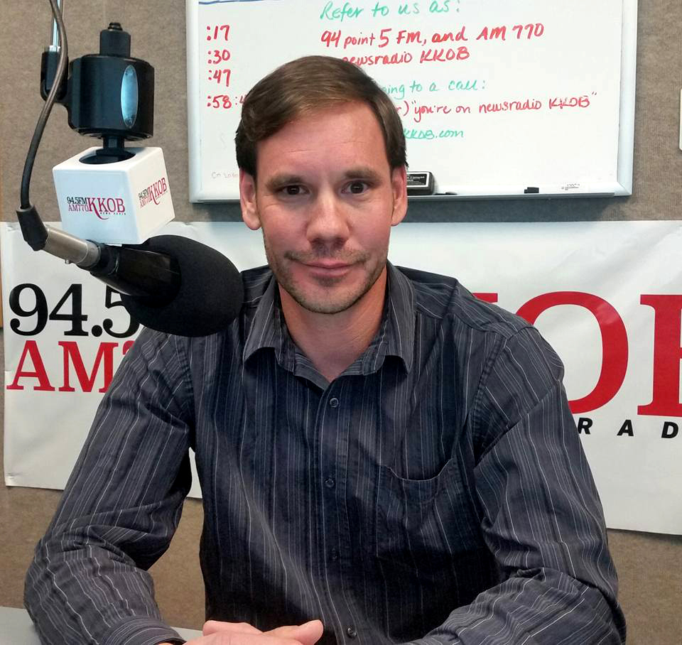 Yours truly in the Go Local Boom radio studio for an interview.