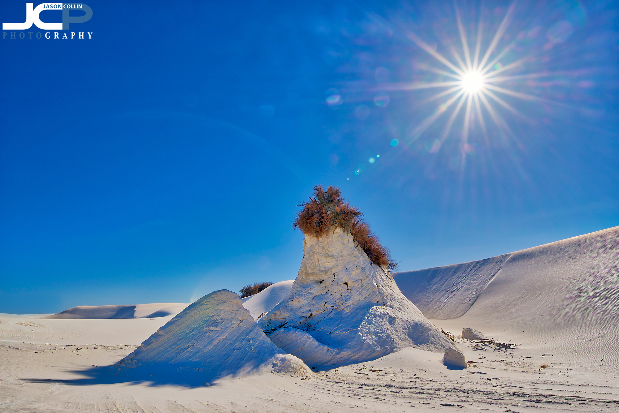 This anomaly in White Sands caught my eye and was where we spent an oasis - Nikon D750 with Tamron 15-30mm @ f/16 ISO 100 5-bracket HDR