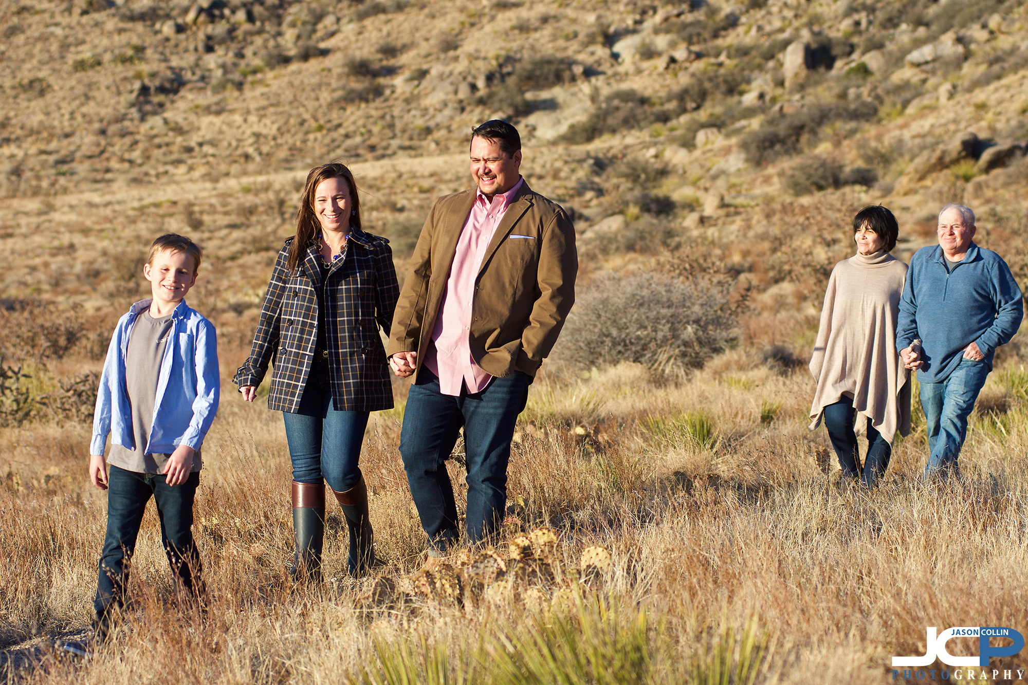 Sandia Mountains family portrait walking the trails in Albuquerque New Mexico - Nikon D7200 with Nikkor 80-200mm @ f/4 1/500th ISO 125 natural light