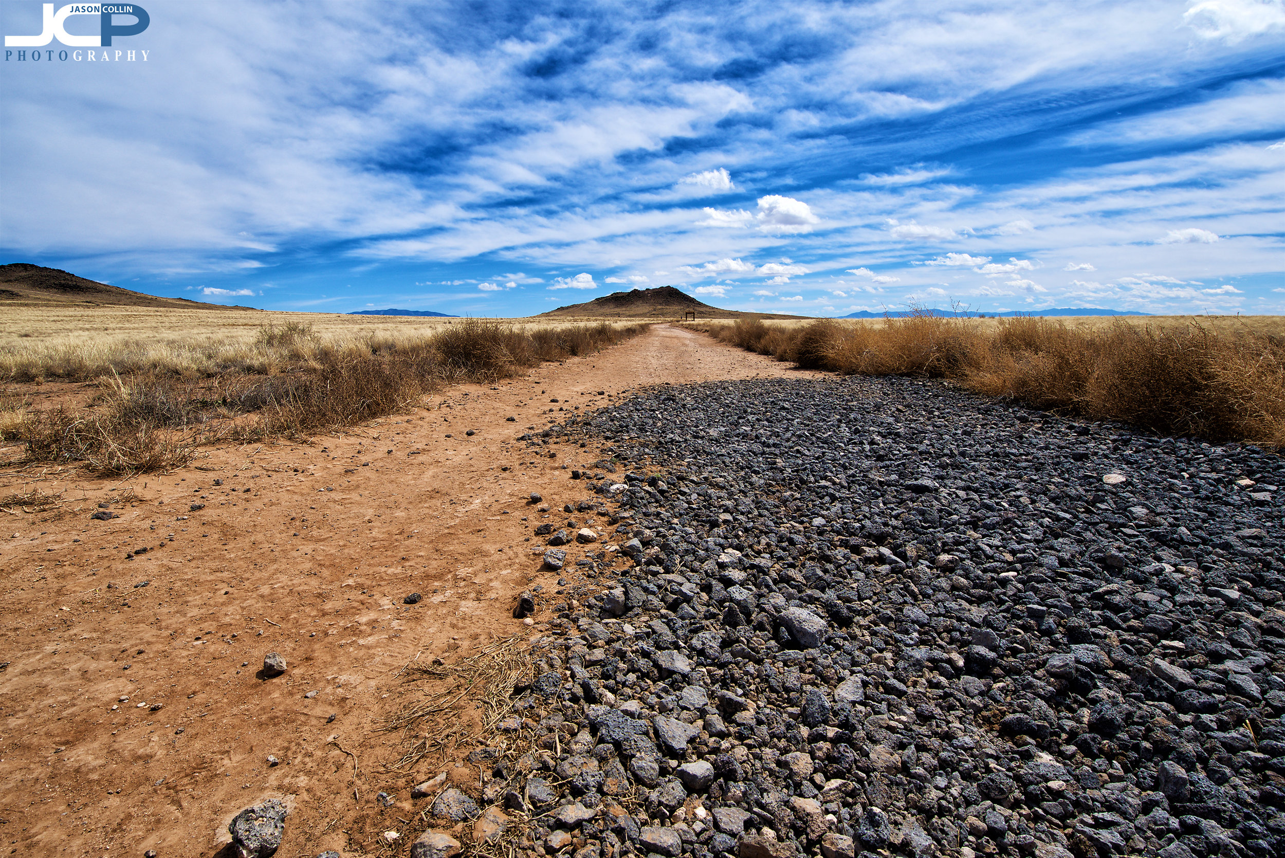 Entry to Black Volcano at Petroglyphs in New Mexico - Nikon D750 with Tamron 15-30mm lens