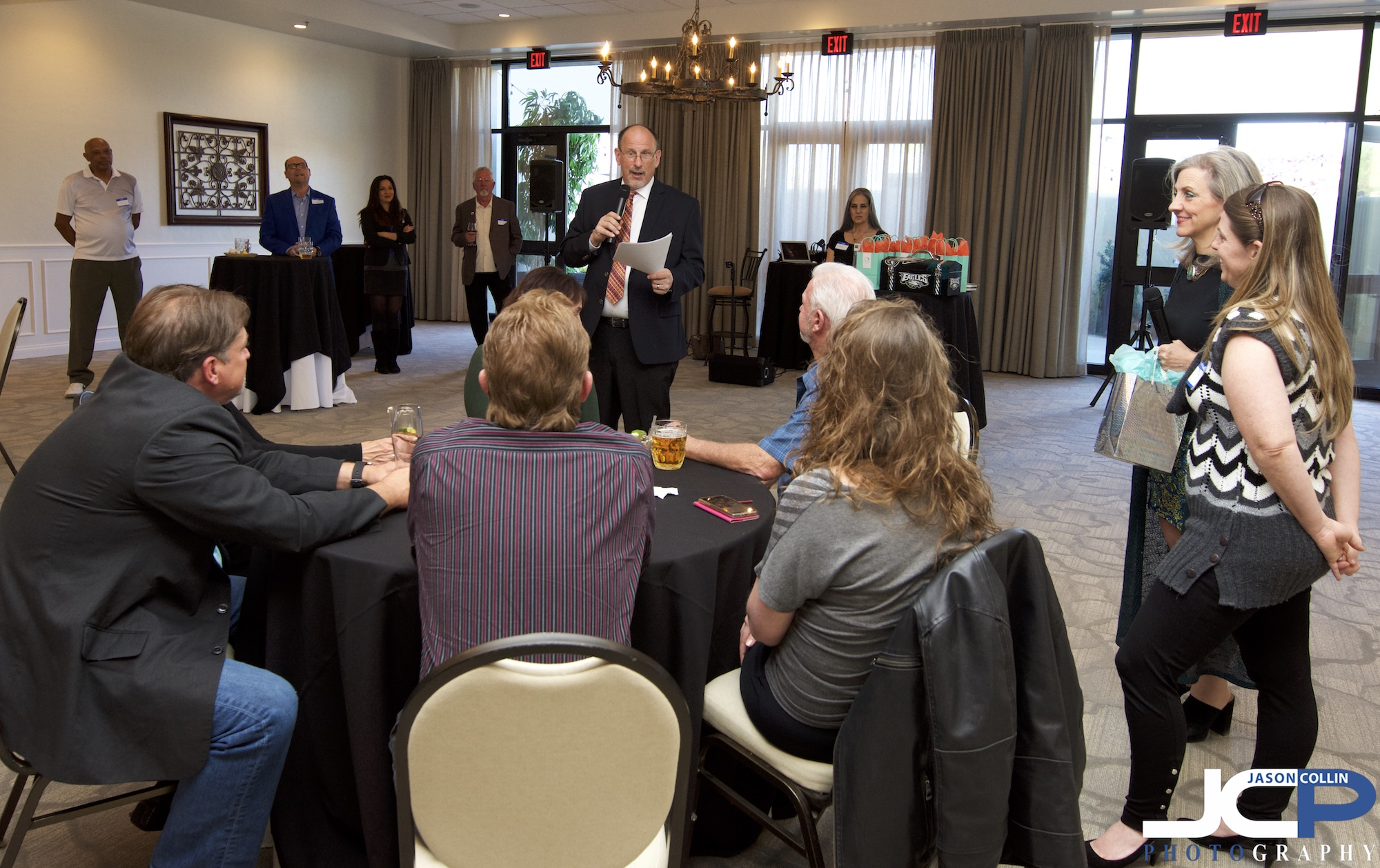 The Southwest Life Real Estate Group hosted an Inner Circle event to introduce mutual business friends at the Albuquerque Country Club