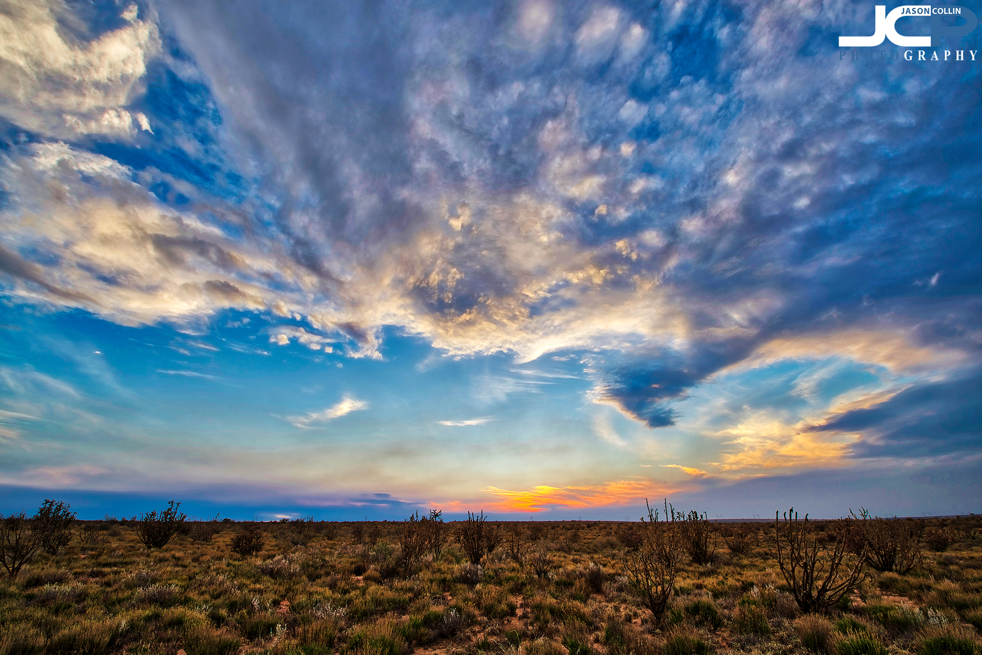 Rural Land Photography in Sandoval County Rio Rancho New Mexico off of Northern Blvd - 5-bracket HDR with Nikon D750 and Tamron 15-30mm f/2.8 lens tripod mounted