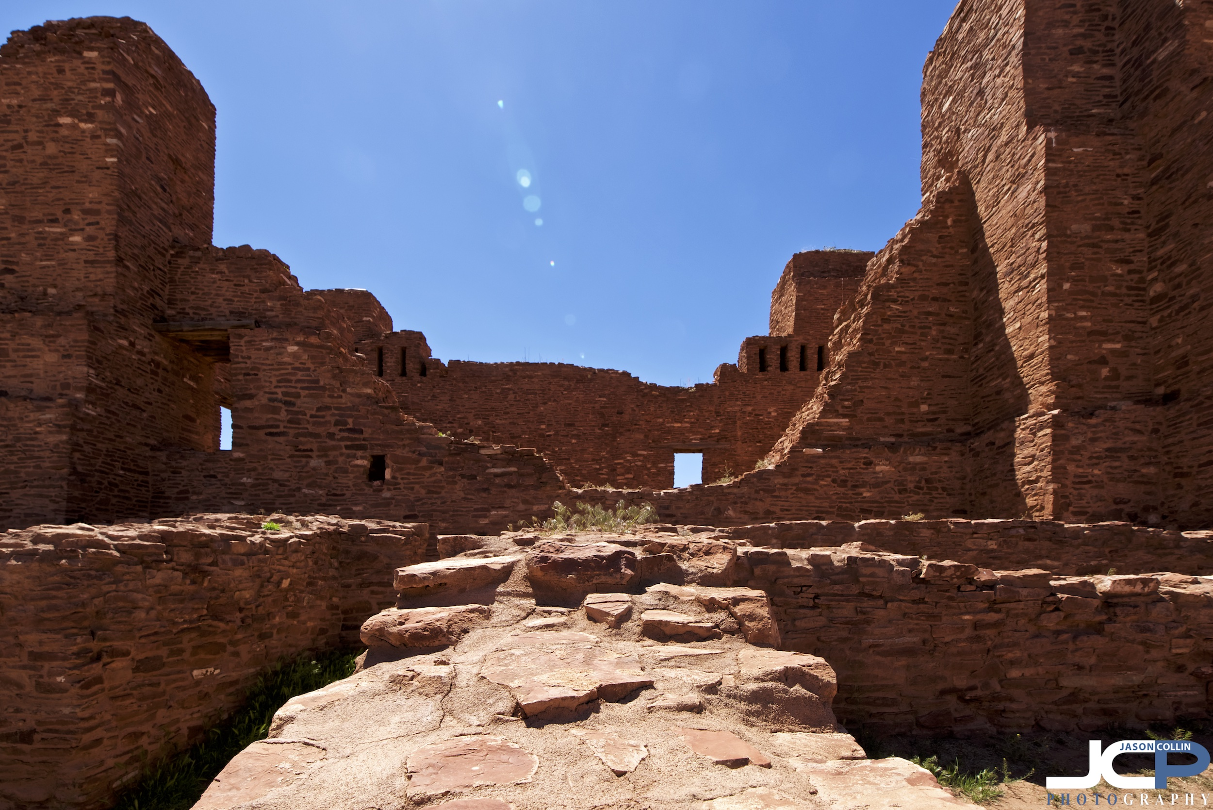 Quarai Mission Ruins in Torrance County, New Mexico part of a National Monument - Nikon D750 with Tamron 15-30mm f/2.8 SP lens