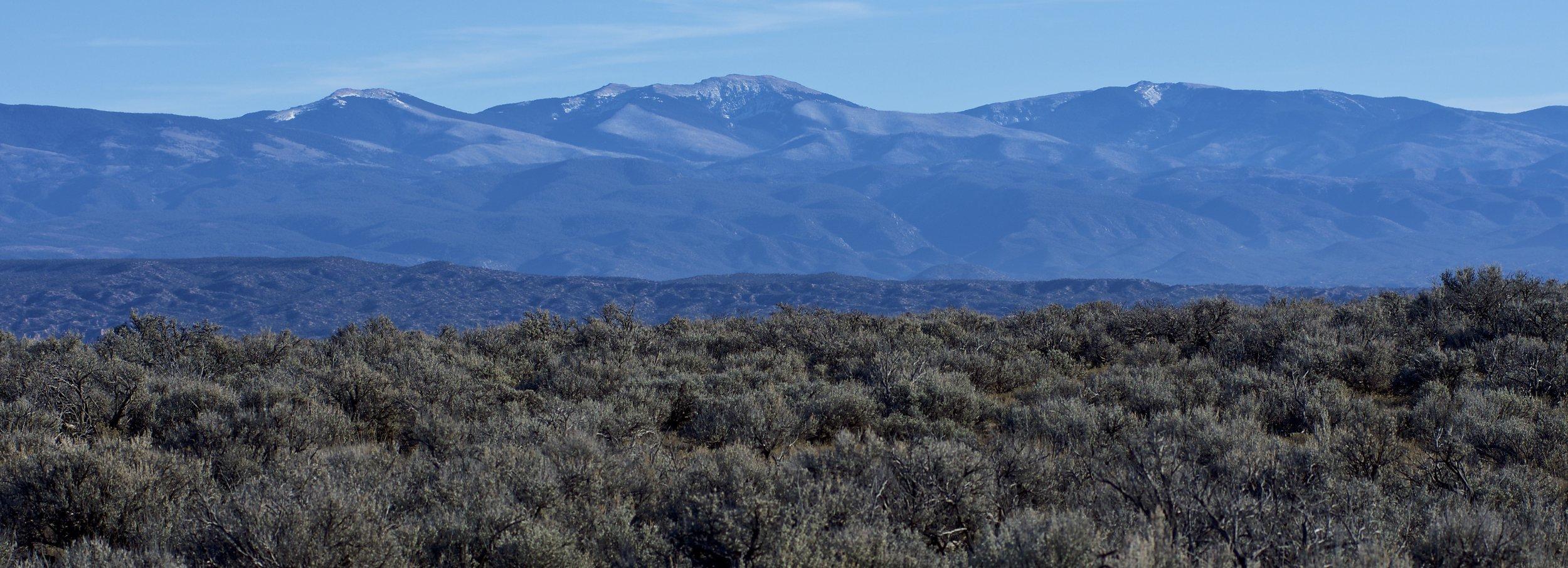Black Mesa mountain view