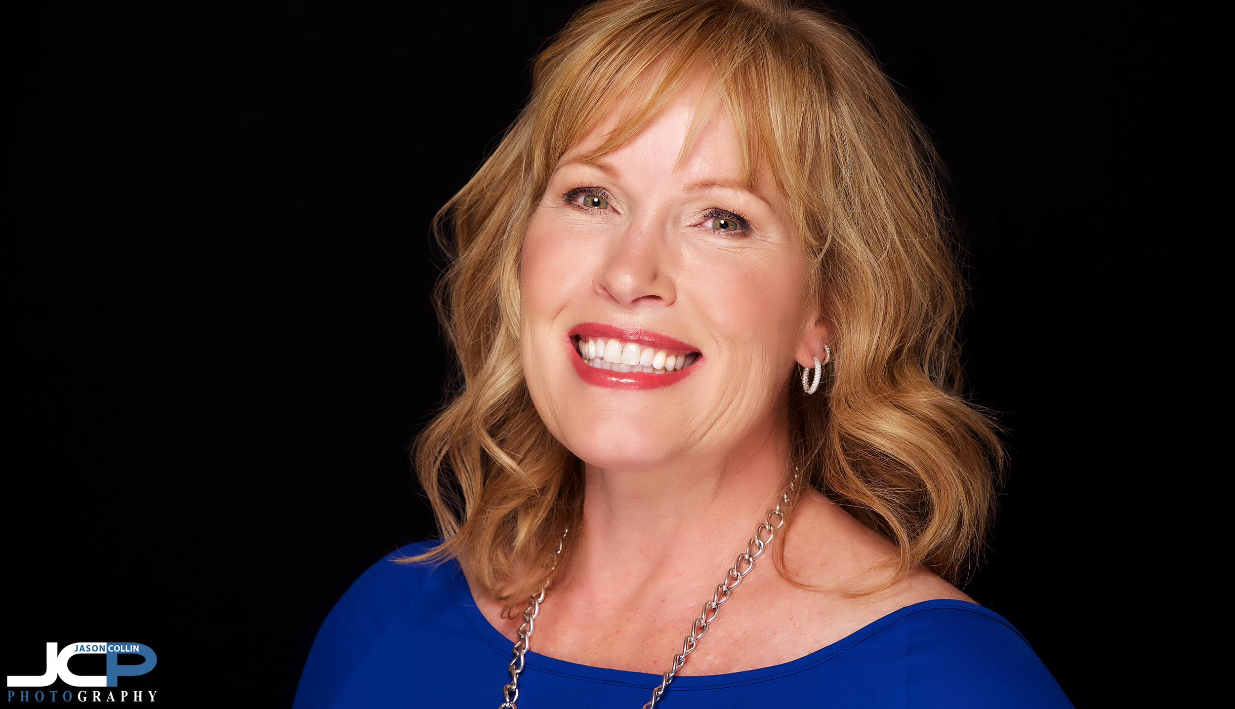 Getting big smiles out of my headshot clients is my specialty at my JCP Home Studio in Albuquerque, New Mexico