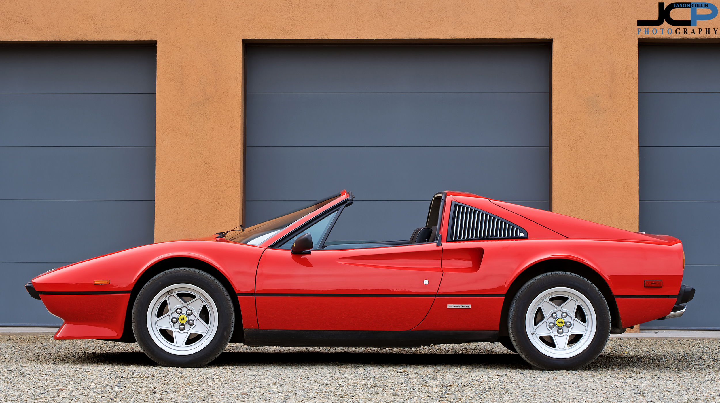 If you ever watched Magnum PI, then you will recognize the Ferrari 308 GTS - Photographed in Santa Fe, New Mexico with a Nikon D750 & Tamron 70-200mm f/2.8 G2 lens