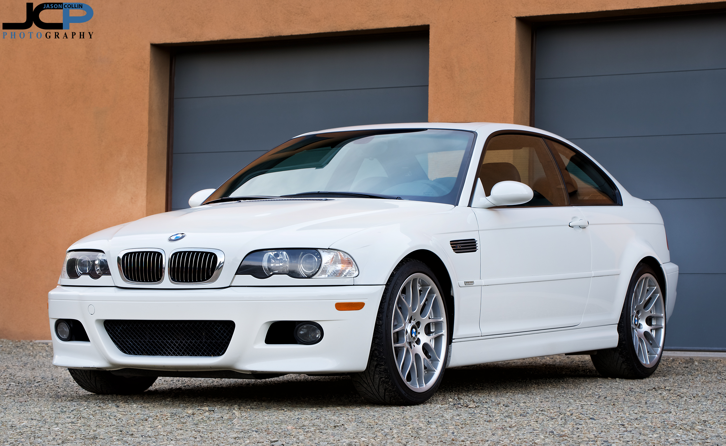 The modern classic and future class BMW M3 E46 generation photographed in Santa Fe, New Mexico