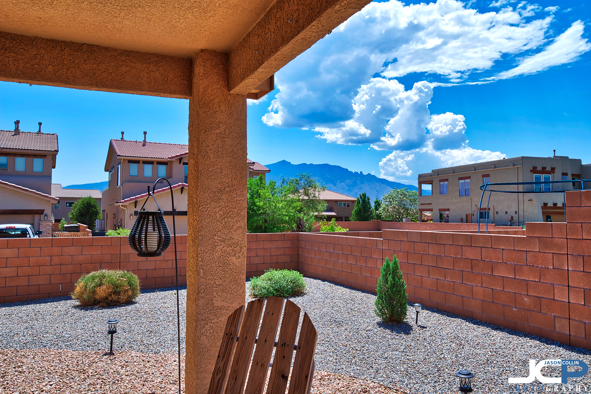 The view from a residential real estate listing I photographed in Bernalillo, New Mexico - Nikon D750 with Tamron 15-30mm f/2.8 SP lens tripod mounted 5-bracket HDR processed in Aurora HDR 2018
